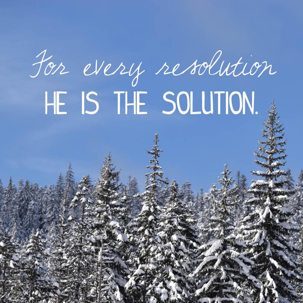 resolution solution