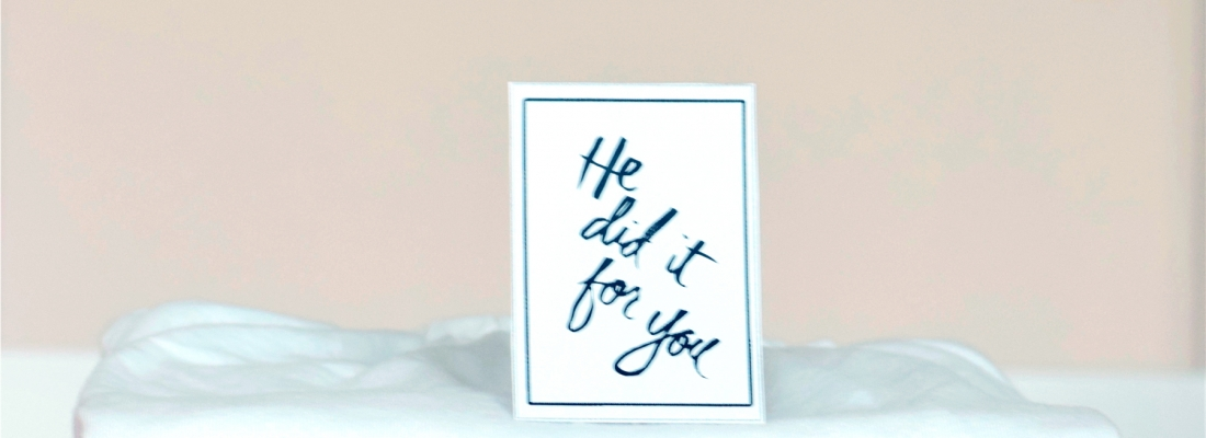 He did it for you – Easter Activity