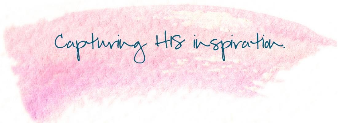 Capturing inspiration